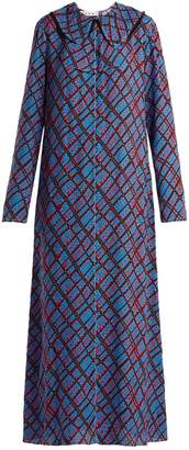 Marni Geometric-print maxi dress