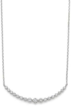 Oriental Diamond K18WG ダイヤモンドネックレス ホワイトゴールド