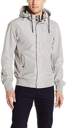 Scotch & Soda Men's Hooded Jacket in Memory Nylon Quality