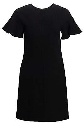 Lela Rose Women's Short Flutter-Sleeve Tunic Dress