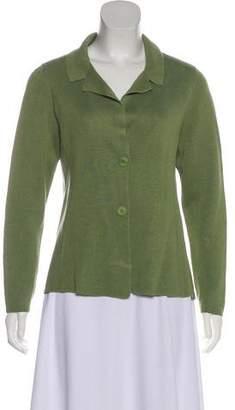 Eileen Fisher Silk Knit Jacket