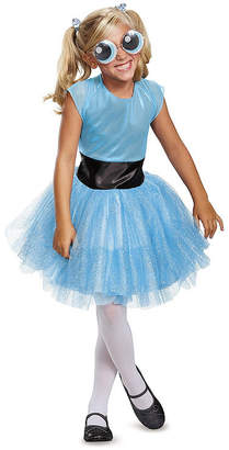 BuySeasons Powerpuff Girls Bubbles Tutu Deluxe Big Girls Costume