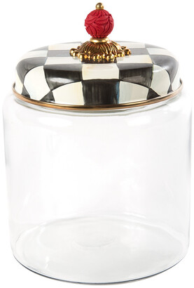 Mackenzie Childs MacKenzie-Childs - Courtly Check Kitchen Canister - Large
