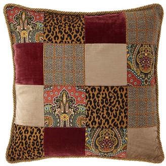 Sweet Dreams Spencer Square Patchwork Pillow