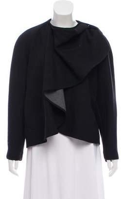 Kenzo Draped Asymmetrical Jacket