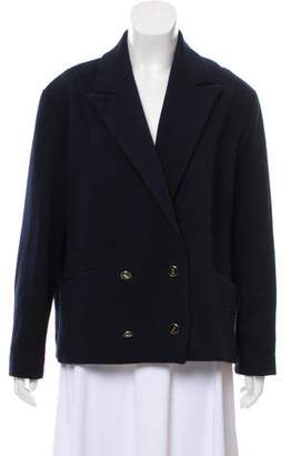 Les Prairies de Paris Wool Oversize Blazer