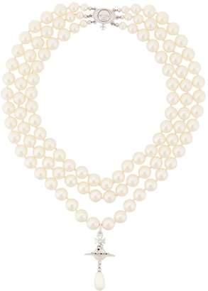 Vivienne Westwood orb drop necklace