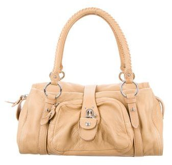 Miu Miu Miu Miu Leather Bauletto Bag