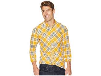 Publish Chet - Long Sleeve Flannel Men's Long Sleeve Button Up