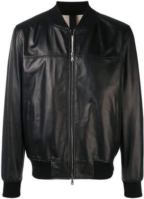Orciani zipped bomber jacket