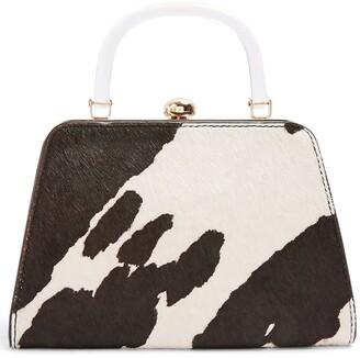 Topshop Greed Genuine Calf Hair Bag