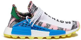 Pharrell adidas By Williams 'Solar Hu NMD' slogan embroidered Primeknit boostTM sock sneakers