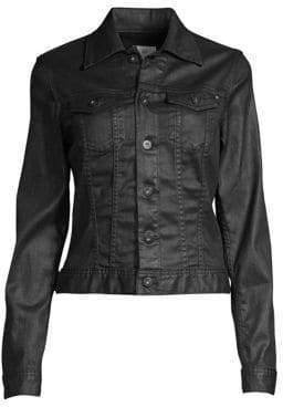 AG Jeans Robyn Coated Jean Jacket