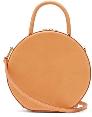 Mansur Gavriel Circle Leather Cross Body Bag - Womens - Tan