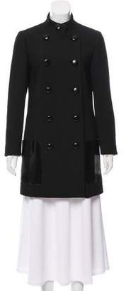 Michael Kors Double-Breasted Short Coat