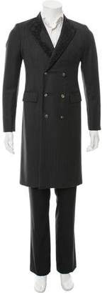 Alexander McQueen Wool Double-Breasted Overcoat