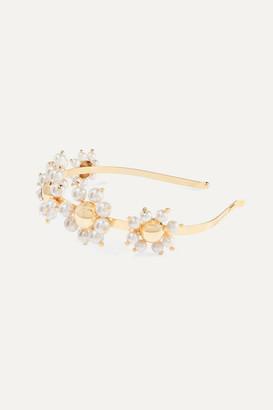 Rosantica Daisy Gold-tone Faux Pearl Headband