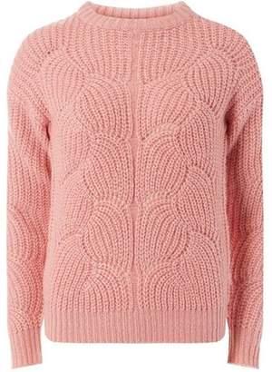 Dorothy Perkins Womens Petite Pink Lofty Stitch Jumper