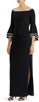 Lauren Ralph Lauren Two-Tone Gown