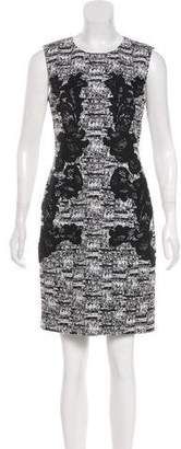 Diane von Furstenberg Printed Knee-Length Sheath Dress