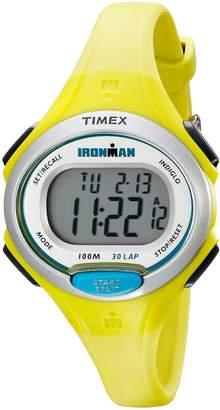 Timex Women's TW5K90200 Ironman Essential 30 Mid-Size Resin Strap Watch