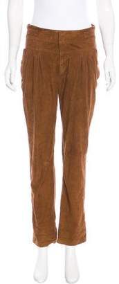 Antik Batik Suede High-Rise Pants