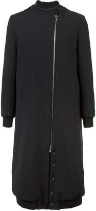 Thamanyah long zipped coat