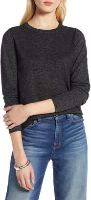 Halogen Shimmer Knit Sweater