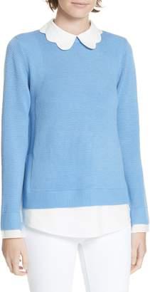 Ted Baker Bronwen Scalloped Collar Sweater