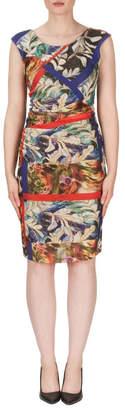 Joseph Ribkoff Floral Motif Dress