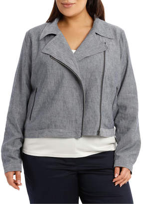 Relaxed Biker Jacket RS19042W