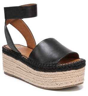8da482c3f67 Franco Sarto Black Metallic Leather Women s Sandals - ShopStyle