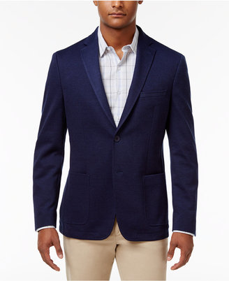 Bar Iii Men's Slim-Fit Navy Solid Sport Coat, Created for Macy's $295 thestylecure.com