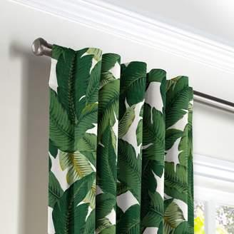 Loom Decor Back Tab Drapery Be Leaf It - Palm
