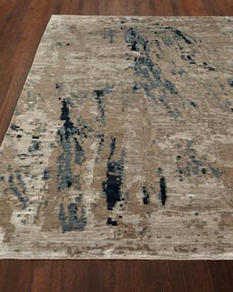 Josie Natori Ursula Hand Knotted Rug, 4' x 6'