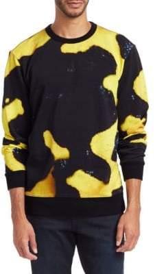 G Star Abstract Print Sweatshirt