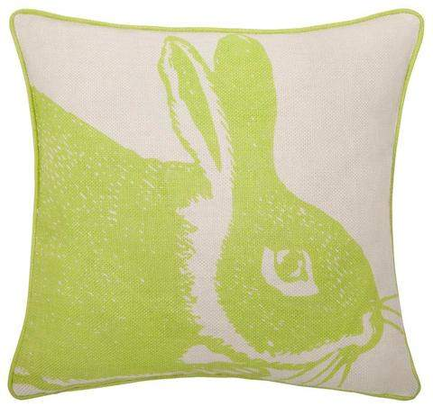 Thomas Paul Kiwi Bunny Linen Pillow