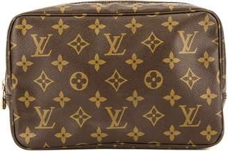 Louis Vuitton Monogram Canvas Trousse Toilette 23 Cosmetic Pouch (Pre Owned)