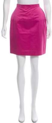 Chanel Knee-Length Skirt Pink Knee-Length Skirt