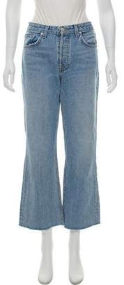 Reformation Mid-Rise Flared Jeans