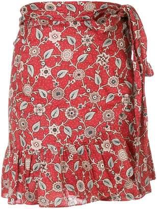 Etoile Isabel Marant wrap front mini skirt