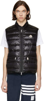 Moncler Black Down Gui Gilet Vest