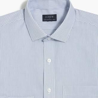J.Crew Factory Slim-fit flex wrinkle-free shirt in stripe