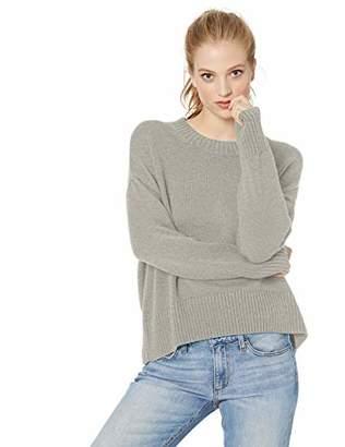 Amazon Brand - Daily Ritual Women's 100% Cotton Boxy Crewneck Sweater