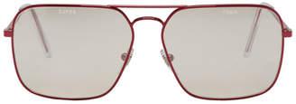 Gosha Rubchinskiy Red Super Edition Iggy Sunglasses