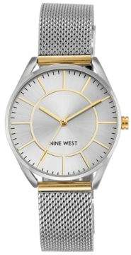Nine West Analog Mesh Bracelet Watch