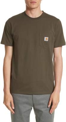 Carhartt Work In Progress Logo Pocket T-Shirt