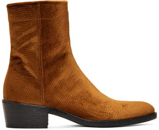adidas Originals Brown Velvet Celest Chunky Boots 1CnBn8O63