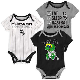 Outerstuff Chicago White Sox Play Ball 3-Piece Set, Infants (0-9 Months)
