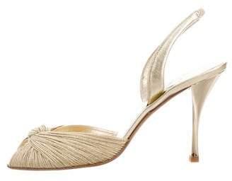 Delman Metallic Siana Sandals